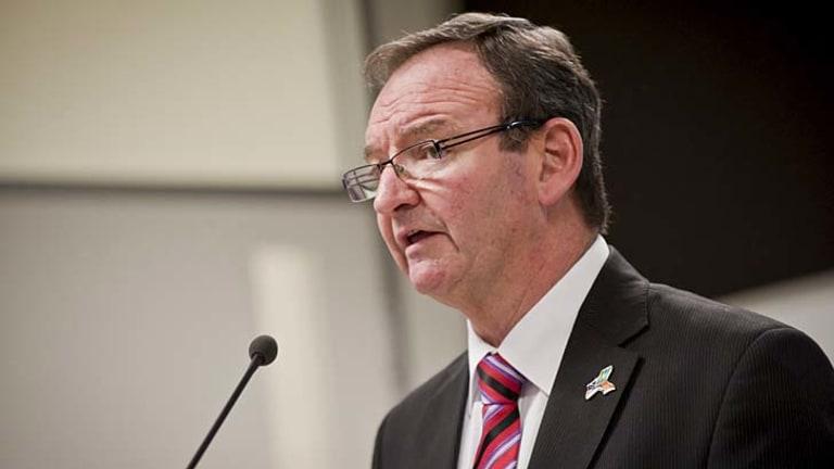 """We need to be vigilant"": Stephen Sedgwick, Australian Public Service Commissioner."