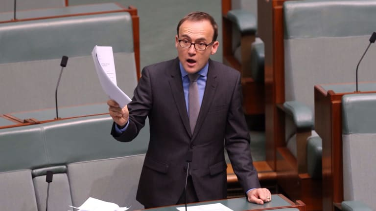 Greens MP Adam Bandt says companies should be responsible for conduct carried out in their name.