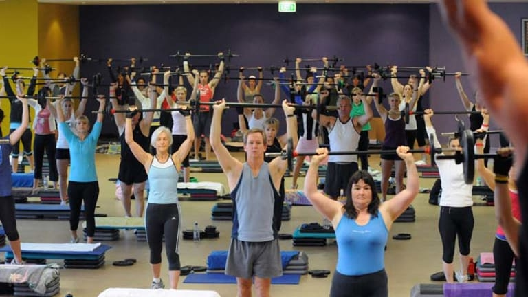 Hands up who's feeling the pinch ... Fitness First Australia has seen profit and members fall.