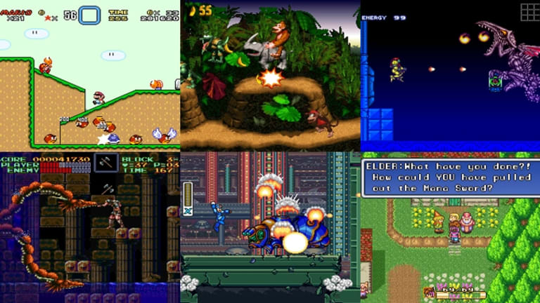The SNES mini contains 20 of the most fondly-remembered games of all time.