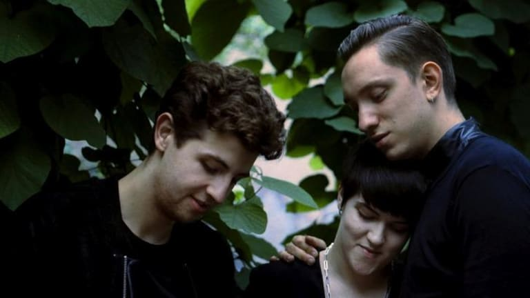 The xx, from left: Jamie Smith, Romy Madley-Croft and Oliver Sim.