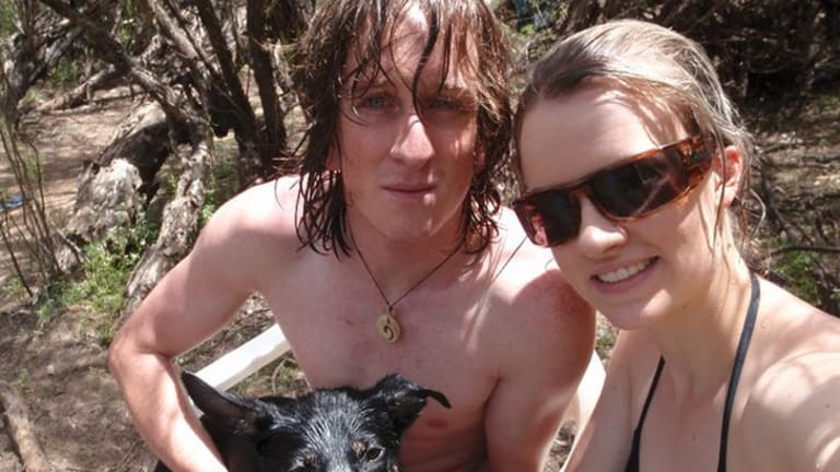 The couple had been together for eight years. Photo: Facebook