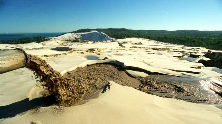 Compensation to North Stradbroke Island mine workers will be explained on Wednesday.The lease on Sibelco's Enterprise Mine will finish on 2019.