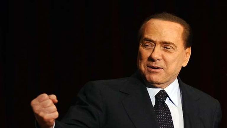 On trial ... Silvio Berlusconi.