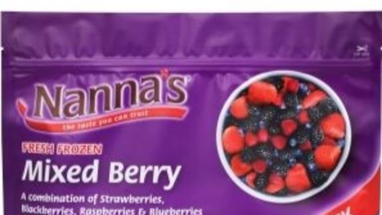Patties recalled Nanna's one-kilogram bags of frozen mixed berries and frozen raspberries, and Creative Gourmet 300- and 500-gram bags of mixed berries.