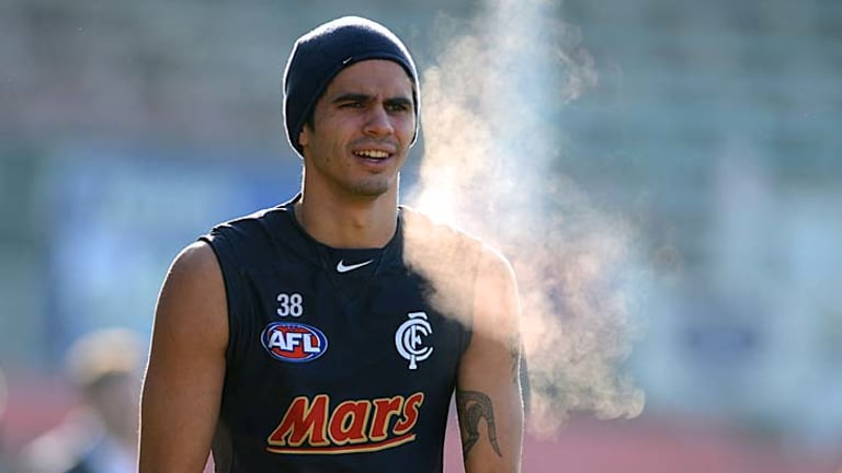Consistent Blue: Jeff Garlett has the ability to ignite and excite his teammates.