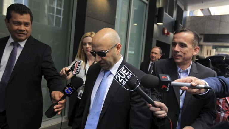"""Paul Obeid ... encouraged  """"white lies"""" over farm purchases."""