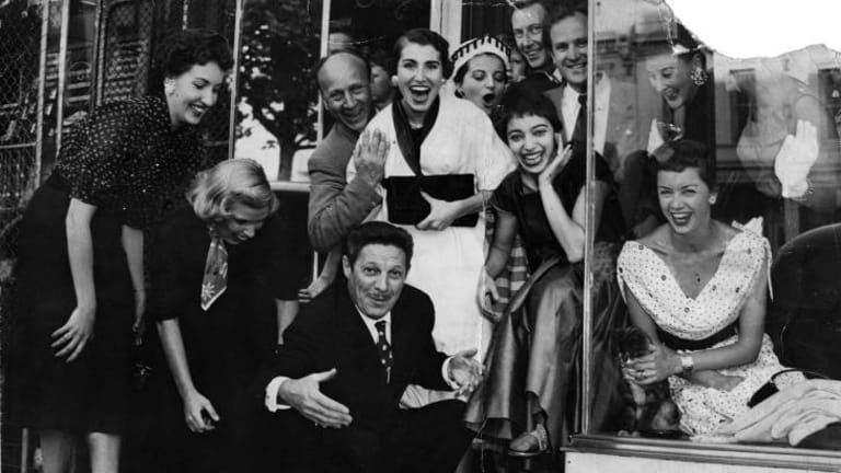 Opening of Mirka Cafe, 1954, courtesy of Heide Museum of Modern Art and William Mora.