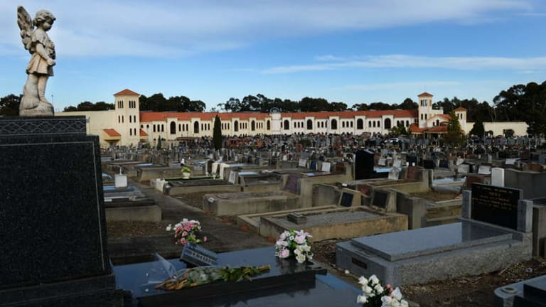 Preston Cemetery.