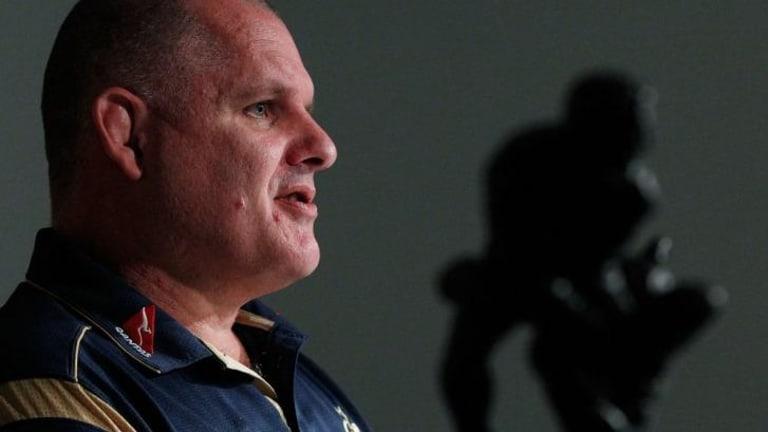 He has a plan: Wallabies head coach Ewen McKenzie.