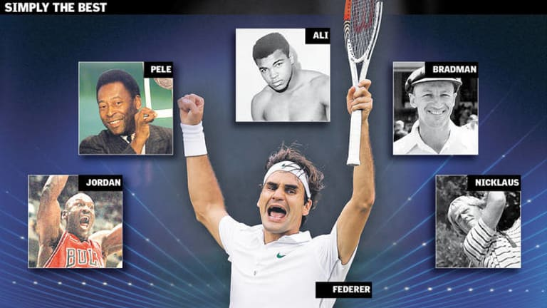 Is Roger Federer the greatest sportsperson of all time. Or do you think there is someone even better?