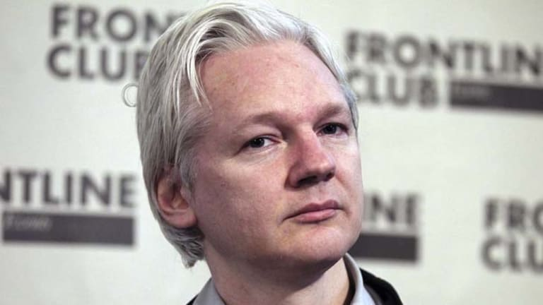 """""""I have been attacked by the US, from the Vice-President down, as a high-tech terrorist ... surely that requires some direct response from the Gillard government"""" ... Julian Assange."""