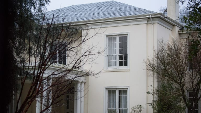 """A """"slightly rundown"""" Toorak mansion bought by Qi Yang for $40 million."""