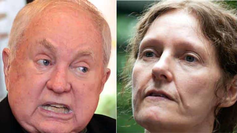 John-Michael Howson and Christine Assange.