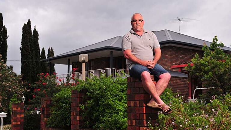 Keilor local Paul Perillo is tired of aircraft noise.