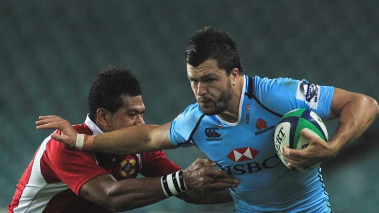 Playing to his strengths ... Adam Ashley-Cooper.