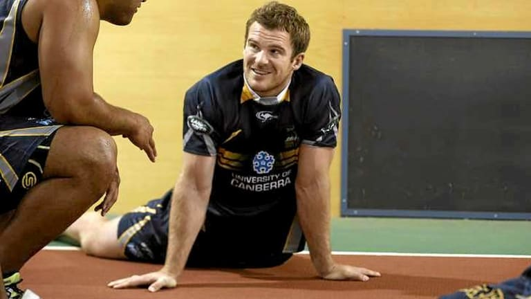 Scans have cleared Brumbies player Pat McCabe to return to contact training in the new year.