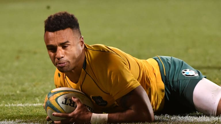 'We're building quite nicely': Will Genia.