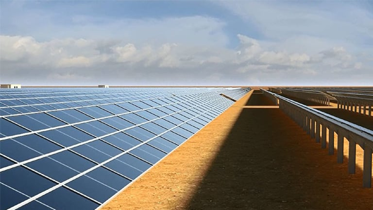 Some 2m solar panels will be constructed in the two plants.