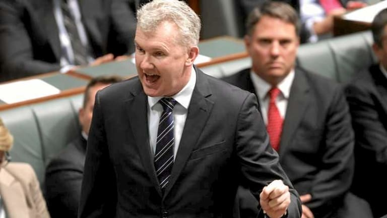 Manager of Opposition Business Tony Burke moved a motion to call Immigration Minister Scott Morrison to explain the Coalition's approach to stemming the flow of asylum seeker boats.