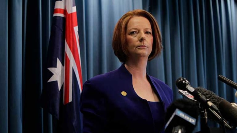 Julia Gillard: Australians and the government want to see this dispute settled.
