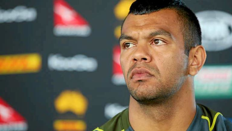 Kurtley Beale was spotted being rowdy in Bondi.