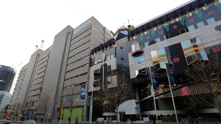 RMIT's Swanston Street campus/