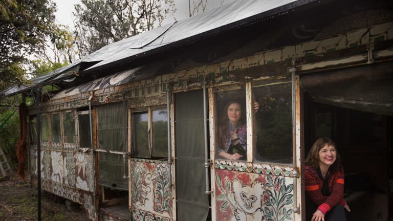 The tram was a gift to family matriarch Annia Castan, a friend of Mirka Mora's.