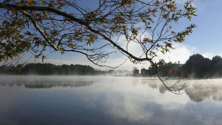 Lake Ginninderra.