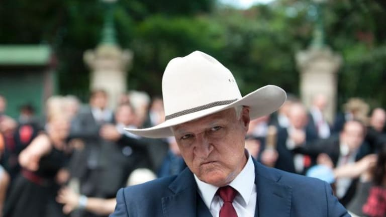 Member for Kennedy Bob Katter: 'There cannot be any compromise with this.'