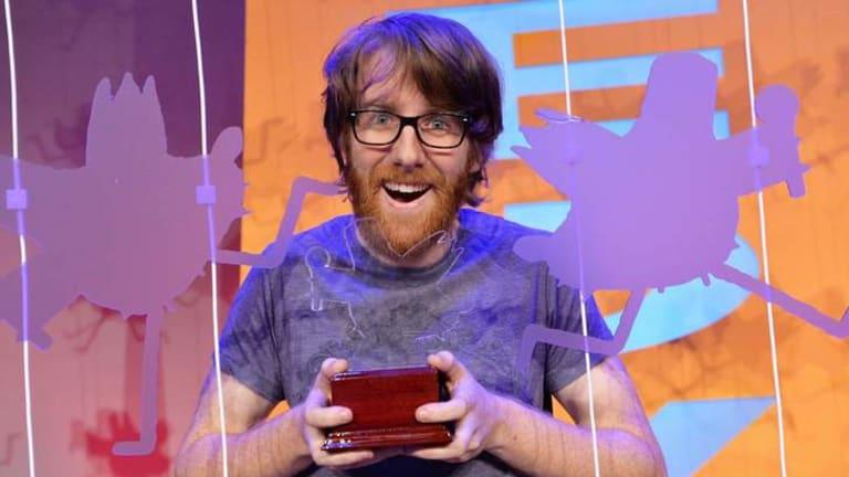 Raw Comedy winner Matt Stewart.