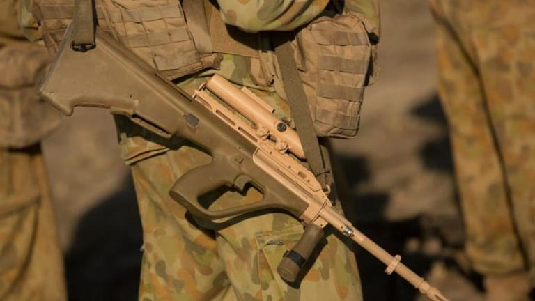 Discontent: Australian Defence Force personnel have been offered a wage increase of 1.5 per cent a year.