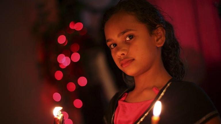 The luminous Jamira, of Melbourne, turns 11 during the film.