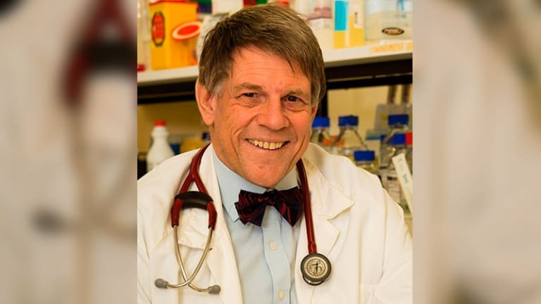 Professor Bruce Robinson has developed a new vaccine that could be used to shrink cancerous tumours.