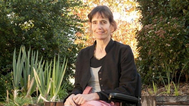 Author Gillian Mears.