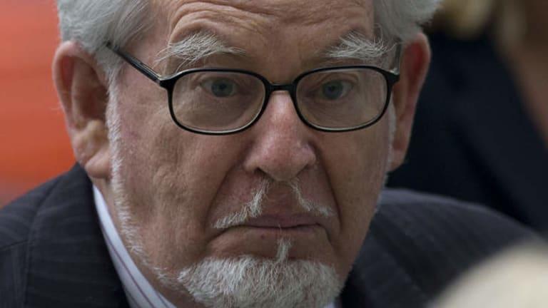 Rolf Harris at court last week.