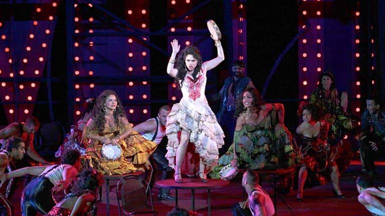 Beautifully cohesive production: The cast of <i>Carmen</i> strut their stuff.