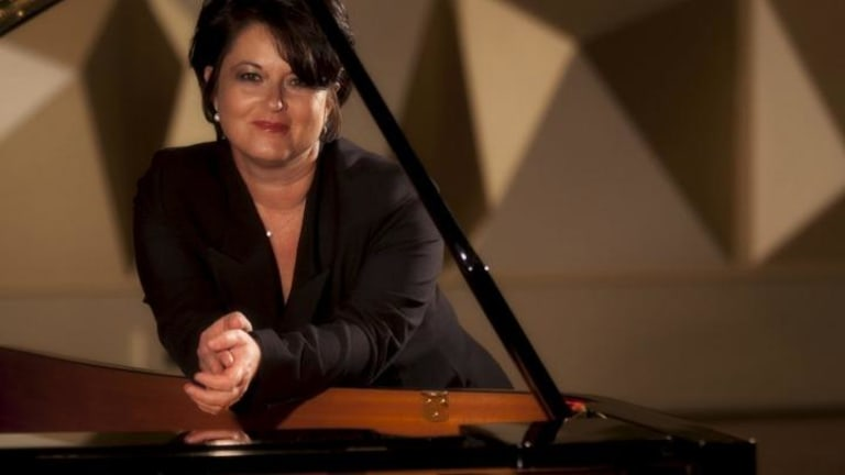 Pianist Kathryn Selby and friends performed from a sombre playlist.