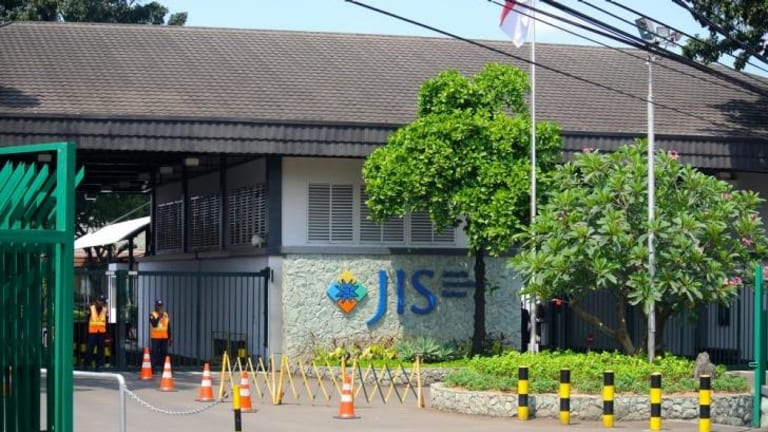 Bizarre details in the child sex allegations against two teachers are emerging  ... pictured, the prestigious Jakarta International School.