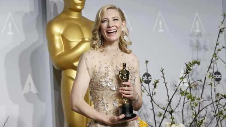 Sending a message: Cate Blanchett.