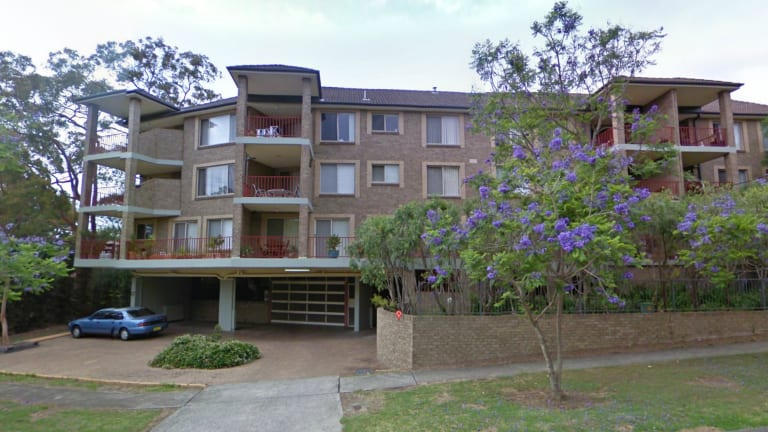 """The owner of the Inputs.io domain name, """"Tradefortress"""", has been traced back to this block of flats at Hornsby in NSW using domain registration records."""