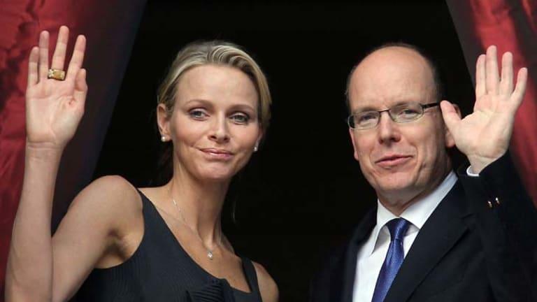 Charlene Wittstock and Prince's Albert II of Monaco.