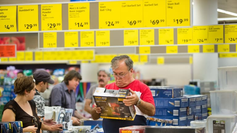 Aldi is continuing to gain market share on Woolworths.