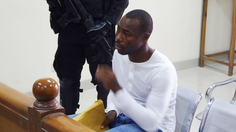 Michael Titus Igweh of Nigeria, who is facing execution in Indonesia.