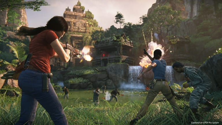 <i>Uncharted 4: A Thief's End</i> is a PS4 exclusive.