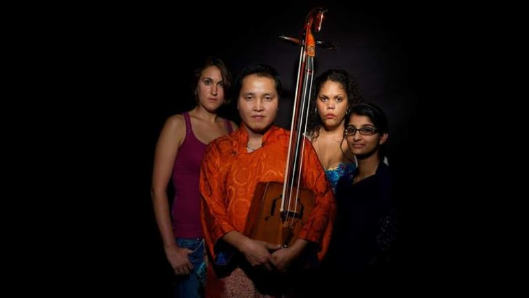 Voice over: Belinda Lopez, Mongolian throat singer Bukhu, Lorna Munro and Krupa Mehta.