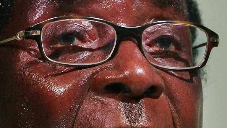 President Robert Mugabe of Zimbabwe.