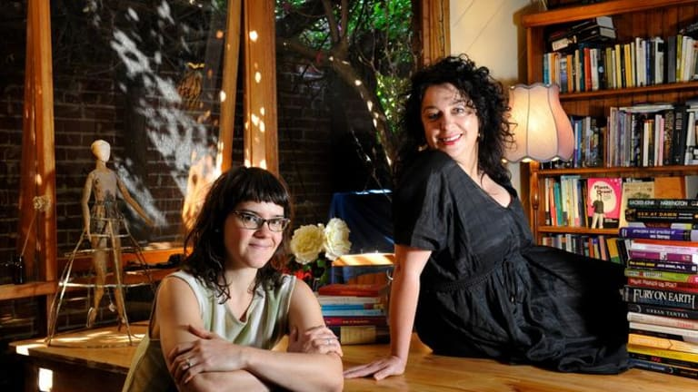 Feminist erotic filmmaker and performer Gala Vanting (left) and sex therapist Cyndi Darnell (right)  believe in the idea of a  sex-positive society.