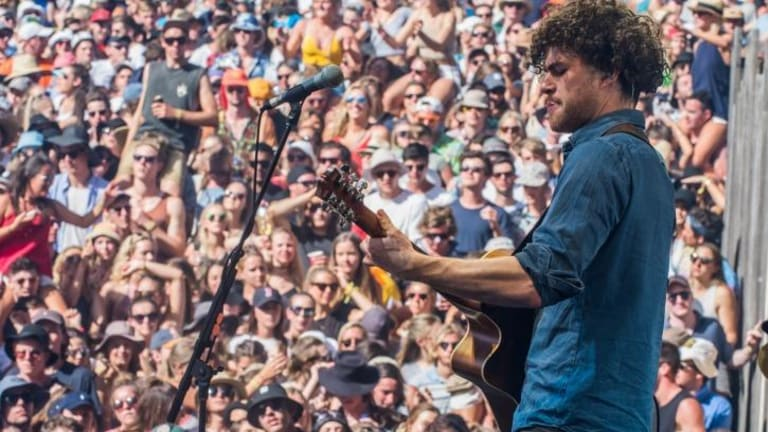 Australian Vance Joy will face off against James Bay and George Ezra in the newcomer category.