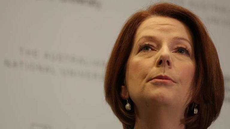"""Prime Minister Julia Gillard: """"The internet must remain open but also be secure."""""""